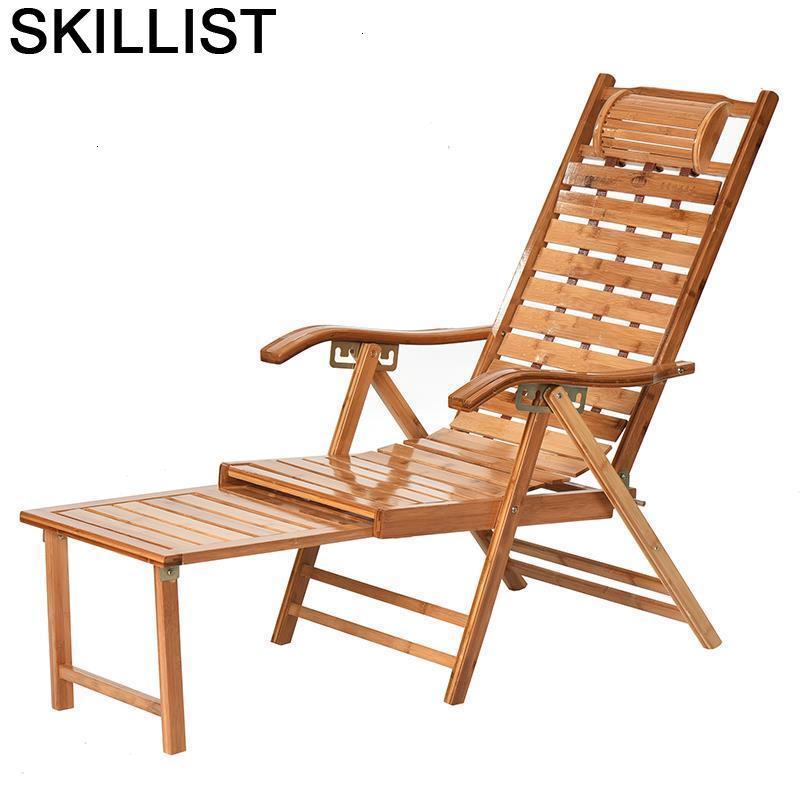 Relax Poltrona Kanapa Sofa Cama Plegable Sillon Reclinable Sillones Moderno Para Sala Bamboo Folding Bed Recliner Chair