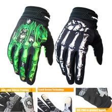 Нескользящие перчатки для велоспорта Спорт на открытом воздухе велосипед Мотоцикл Фитнес ударопрочный Альпинизм полный палец Сенсорный экран C92