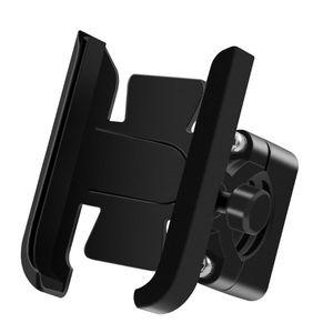 Image 1 - 360 Degree Universal Metal Bike Motorcycle Motorbike Mirror Handlebar Smart Phone Holder Stand Mount For iPhone Xiaomi Samsung 4