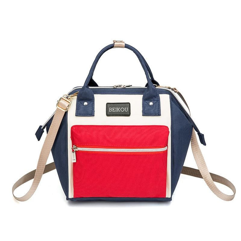 New Fashion Mini Diaper Bag Waterproof Maternity Backpack For Mom Small Tote Mummy Bag Travel Como Crossbody Diaper Bakcpack