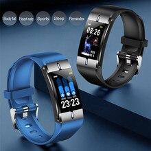 ONEVAN חכם שעון גוף שומן קצב לב צג לחץ דם מזג אוויר תחזית ספורט צמיד כושר צמיד עבור אנדרואיד iOS