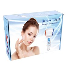 Hot And Cold Hammer Beauty Instrument Red Blue Skin Care Essence Imported Shrink Pores Ice Therapy Instrument
