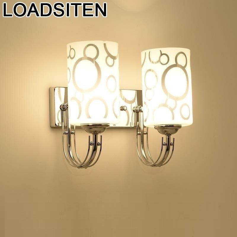 Applique Parágrafo Parede Arandela Lampen Lâmpada Moderna Luz Para Home Interior Lampara De Pared Wandlamp Aplique Luz Do Quarto Parede