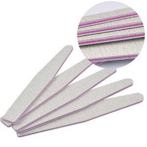 Набор пилок для ногтей, с песочным напылением, 100/180, 5 шт., набор для педикюра и маникюра, профессиональные инструменты для ухода за ногтями|Пилки для ногтей и буферы|   | АлиЭкспресс