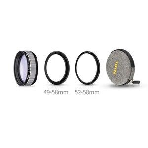 Адаптеры для макросъемки объектива NiSi MC 58 мм с переходным кольцом 49-58 52-58 для Canon 100 мм Nikon 105 мм Sony 90 мм