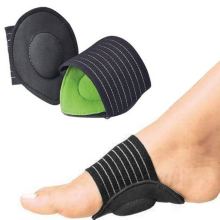 Pad Foot-Pads Feet-Support 1-Pair Cushion Aid-Corrector Arch-Heel Fasciitis Pain-Relief