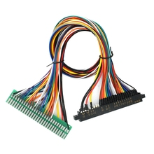 Jamma Wire Harness 28 Pin Loom for Arcade Cabinet Accessories Games 60 in 1