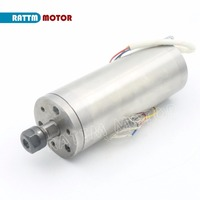 0.3KW 300W 75V Water cooled spindle ER8 4.5A high speed 60000rpm 300W water cooling spindle motor for cnc Router Engraving