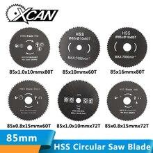 1pcs Out diameter 85 mm High Quality Mini HSS circular saw blade wood cutting blade