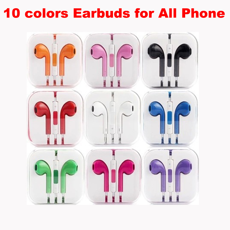 Dabruyne Sports Earphones 3.5mm In-Ear Wired Earphone Earbuds Stereo Earphones With Mic For IPhone Samsung Huawei Xiaomi Phone