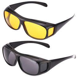 Car Night Sunglasses Night Driving Glasses Driver Goggles Unisex HD Sun Glasses UV Protection Sunglasses Eyewear
