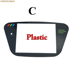 Image 4 - ChengHaoRan 5pcs פלסטיק החלפת מסך כיסוי עדשה עבור Sega משחק הילוך שחור GG Gamegear קונסולה