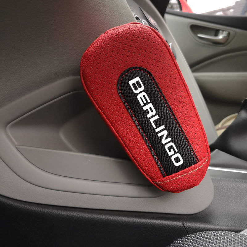 Pu Leather Knee Pad handrail pad Interior Car Accessories For Citroen Berlingo