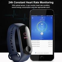 Smart Bracelet Bluetooth Men Women Smart Watch Waterproof Blood Pressure Fitness Tracker Heart Rate Monitor Smartwatch origianl garmin vivoactive hr smart watch bluetooth 4 0 waterproof smartwatch heart rate monitor wristband gps