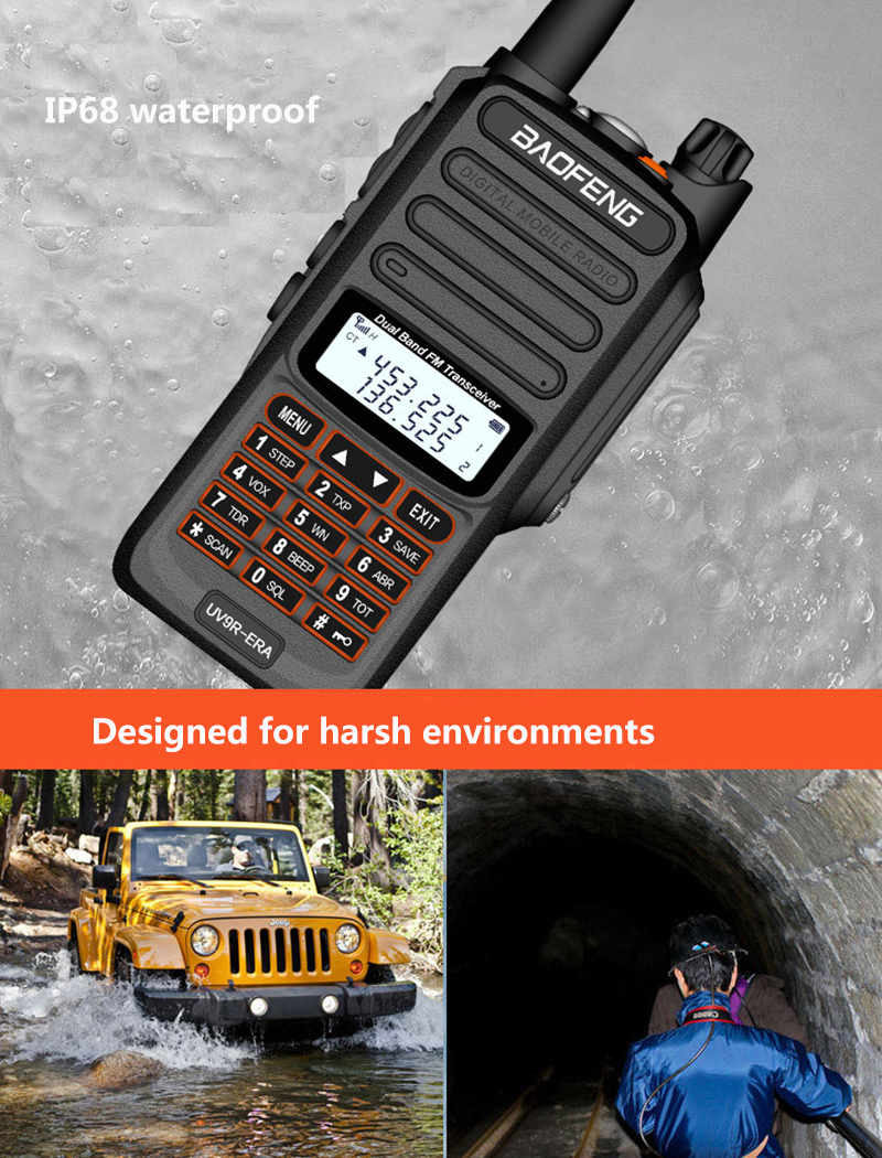 2019 BaoFeng UV-S9 Powerful Walkie Talkie CB Radio Transceiver 8W 10km Long Range Portable Radio for hunt forest city (8)