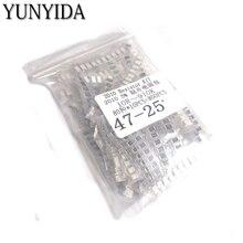 800pcs   2010 SMD Resistor Kit Assorted Kit 1ohm-1M ohm 5% 80valuesX 10pcs=800pcs Sample Kit