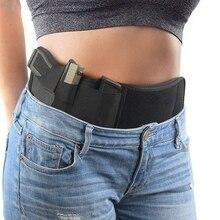 Тактическая кобура для пистолета, Ранняя сумка, скрытая переноска, эластичный пояс, чехол для пистолета, чехол для телефона, охоты, журнал