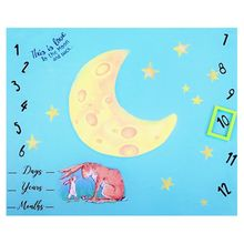 Newborn Shower Gifts New Baby Photo Background Cloth Infants Growth Record Photography Blanket