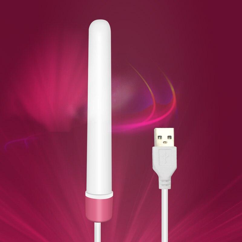 USB Heating Rod Smart Thermostat Vagina Warmer For Male Masturbator Masturbation Cup Rapid Heat 46 Degrees Adults Sex Toys