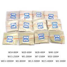 100 карат/20 г w05 до w40 полировальный порошок алмазные микроны