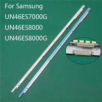 Neue LED TV Beleuchtung Teil Ersatz Für Samsung UN46ES8000 UN46ES7000G UN46ES8000G LED Bars Hintergrundbeleuchtung Streifen 2 Linie Lineale-in Leuchtperlen aus Licht & Beleuchtung bei