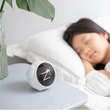 2021 nouveau mignon Expression réveil multifonctionnel chevet commande vocale veilleuse Snooze rechargeable enfant réveil