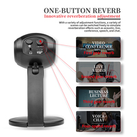 USB Plug and play Computer Mic Online Live Voice Recording Microphone Games Condenser Voice Tube Conference Video Chat Mirophone