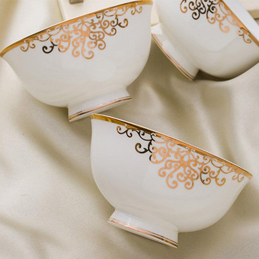 56 Heads Jingdezhen ceramics Dinner