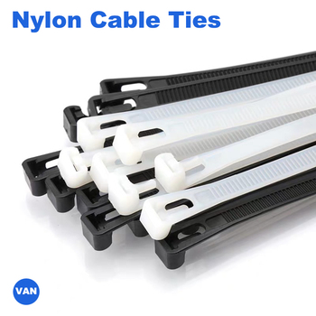 White Releasable nylon cable ties 8*150/200/250/300/400/450may loose slipknot tie reusable packaging Plastic Zip Tie wrap Strap 100pcs white self locking cable tie high quality nylon fasten zip wire wrap strap 2 5x100mm 2 5x150mm plastic