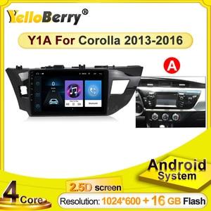 Multimedialna nawigacja GPS do samochodu z androidem nawigacja autoraido odtwarzacz stereo dla Toyota Levin corolla 2013 2014 2015 2016 SWC WIFI Bluetooth
