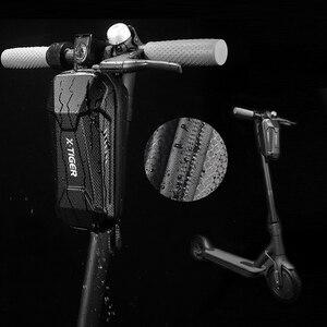 Электрический скутер водонепроницаемый руль сумка Аксессуары для велосипеда PU седло сумка корзина велосипед Паньер Передняя жесткая обол...