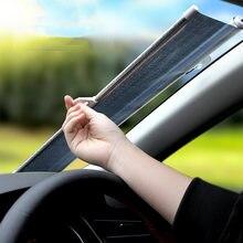 40 см * 60 ПВХ Авто Выдвижная теплоизоляция солнцезащитный козырек