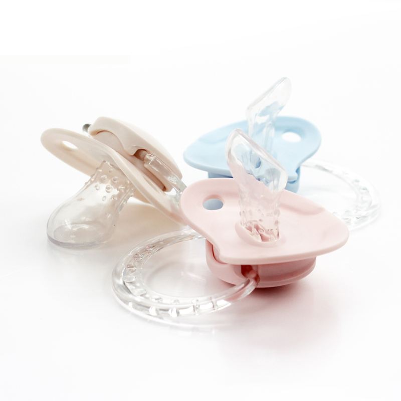 Silicone Pacifier PBA Free safe 0 1 2 3 4 5 6 7 8 9 10 11 12 24 months baby Orthodontic image