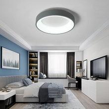 Grey/White Finished Chandelier Modern led chandelier for living room bedroom Study Room Stylish 110V 220V Chandelier lighting