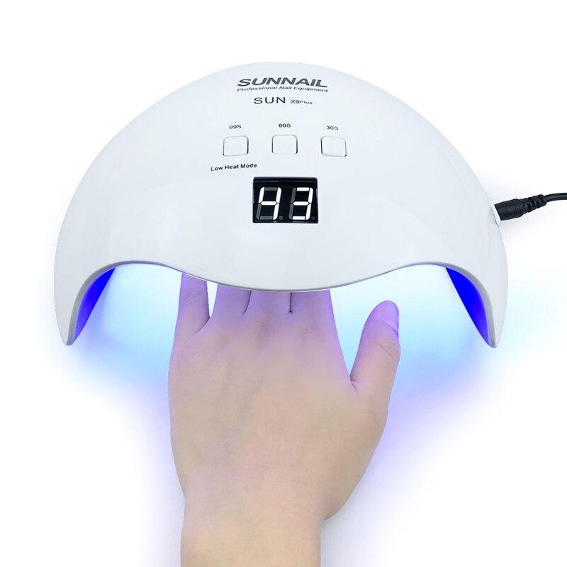 40w para unhas secador de luz solar lampada para manicure 84 120w 54w 24w inteligente display
