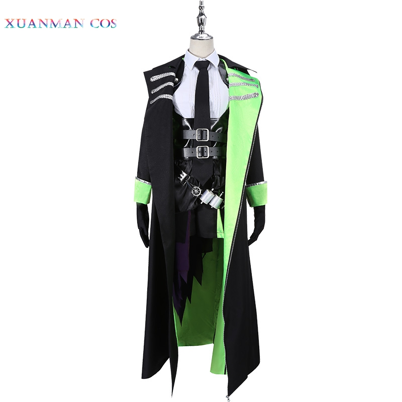 Twisted-Wonderland Cosplay Costume Sleeping Beauty Diasomnia Lilia Vanrouge Jacket Pants Male Uniform Outfit Asian Size