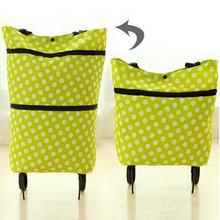 Складная тележка для покупок сумка с колесами складная детская