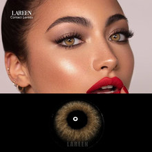 LAREEN 2pcs/pair Colored Contact Lenses Eye Himalaya Seriers Year Toss Contact Lenses Color Cosmetic Contact Lens for Eyes