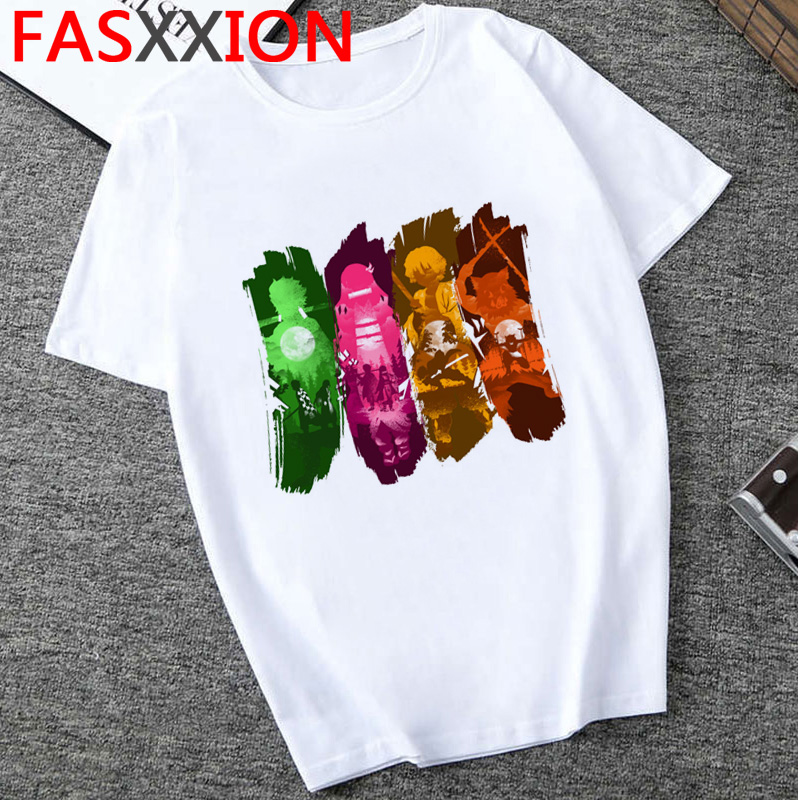 H94d6b00f1084413da8a7b239a024b962r - Demon Slayer T-shirt  Graphic Tees Men Streetwear  Japanese Anime Cool Tshirt Funny Cartoon Kimetsu No Yaiba T Shirt Male