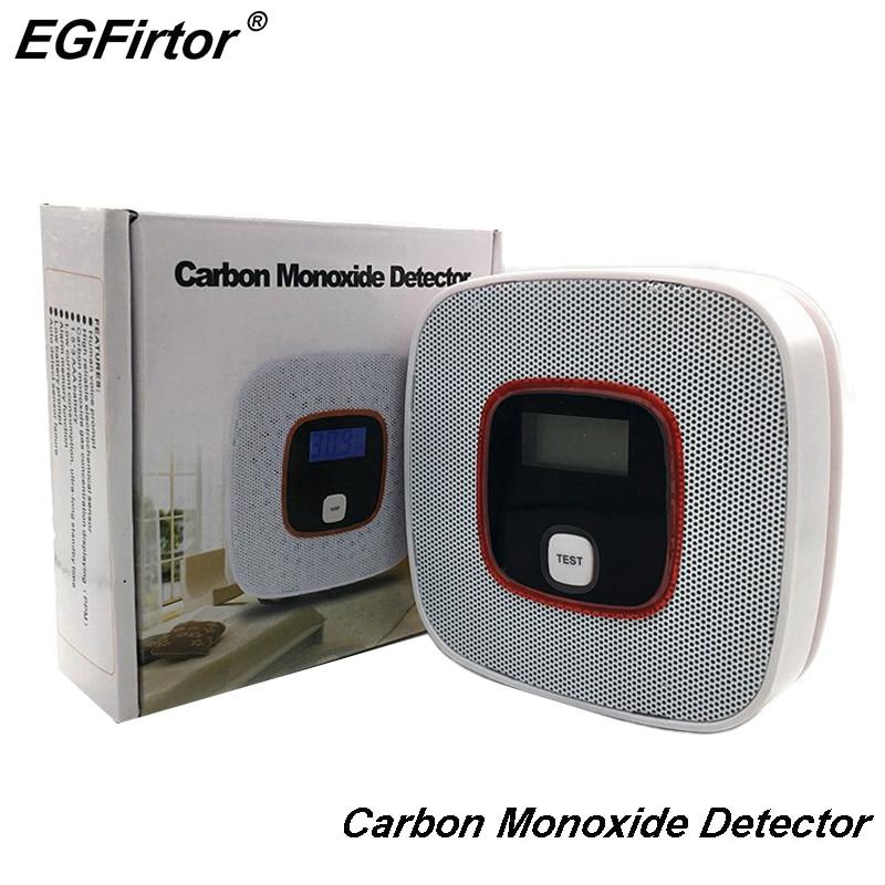 Security Alarm Carbon Monoxide Detector Co Gas Sensor Detector Battery Operation Poison Gas Leakage Detector Kitchen Sensor