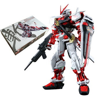 Daban Model PG Gundam MBF-P02 Fighter Astray Red Frame 1/60 Japanese anime assembled Kits PVC Action Figures robots [show z store] 3r mg 1 100 gat x103 buster gundam ally frame upgrade kits action figure
