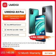 "UMIDIGI A9 Pro 6GB 128GB SmartPhone Global Version Unlocked 48MP Quad Camera 24MP Selfie Helio P60 6.3"" FHD+ Smart Phone celular"