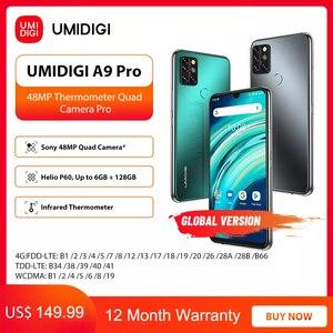 "Image 1 - UMIDIGI A9 Pro 6GB 128GB SmartPhone Global Version Unlocked 48MP Quad Camera 24MP Selfie Helio P60 6.3"" FHD+ Smart Phone celular"
