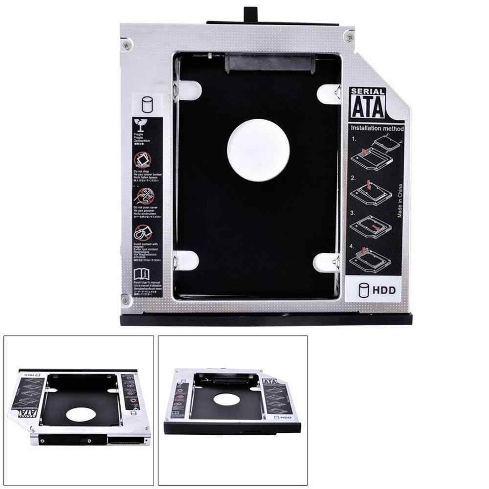 12.7MM 2nd SATA Hard Disk Drive HDD SSD Caddy Adapter Tray untuk Lenovo IdeaPad G570 G580 G585 G770
