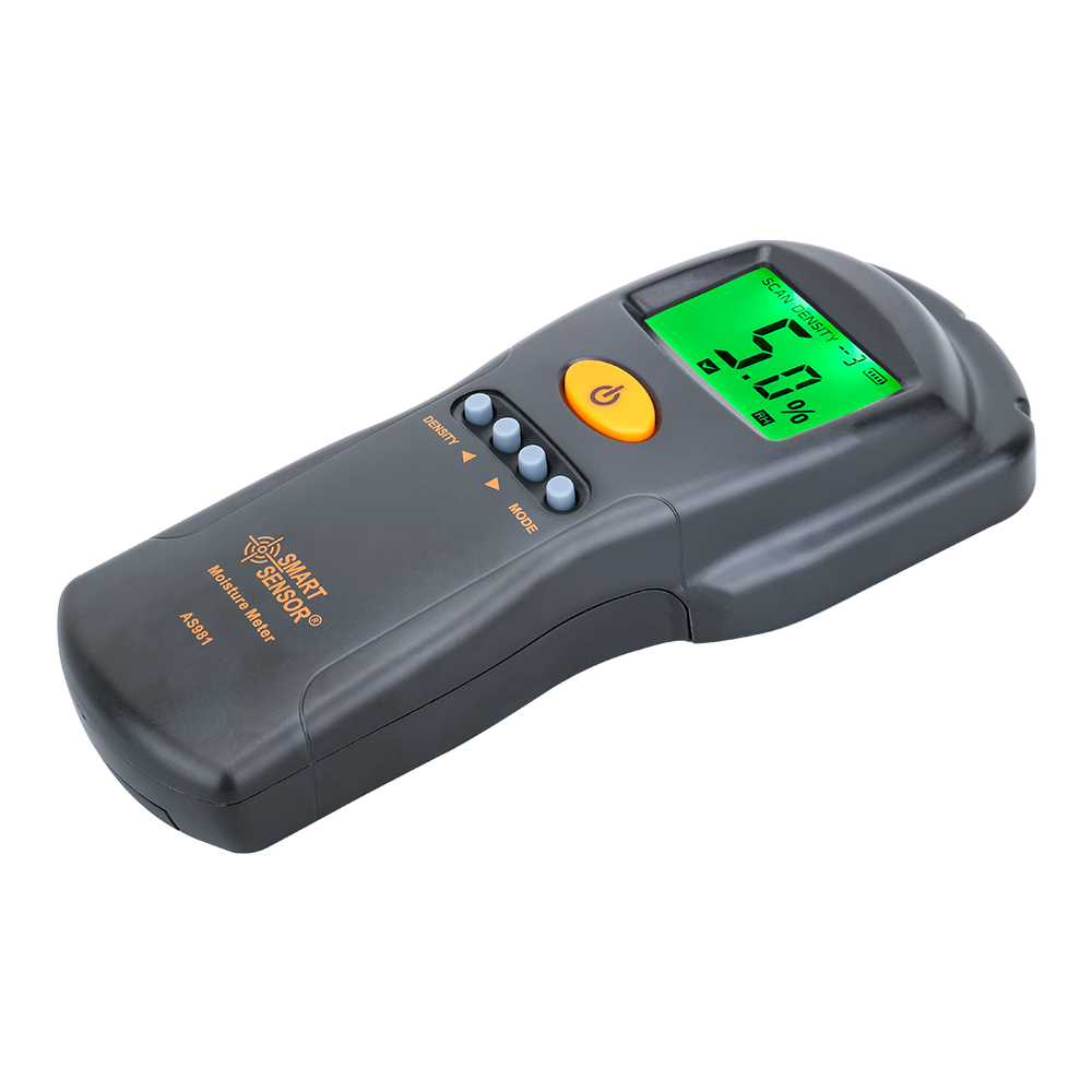 Tools : Digital hygrometer Moisture Meter for wood  cardboard Lumber Humidity Tester Fast  amp  Precise Microwave Measurement LCD display