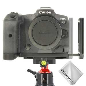 Quick Release L Plate Bracket Holder Hand Grip for Canon EOS R5 EOS R6 Camera