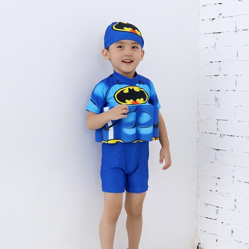 CHILDREN'S Buoyancy Swimsuit BOY'S GIRL'S One-piece Cartoon Bubble Hot Spring Buoyancy Tour Bathing Suit Baby Infants Learn Swim