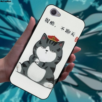 Mutouniao Cat And Dog 4 Soft TPU Case Cover For Vivo V3 V5 V7 V9 Y75 Y79 Y85 X9 X9S Y91i Y91C Max Plus Lite image