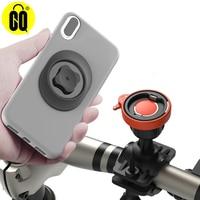Soporte de teléfono para bicicleta con rotación de 360 °, ajustable y desmontable, con bloqueo rápido, para iPhone 11 Pro Max Xr Xs X Samsung Galaxy Google Pixel