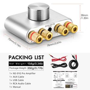 Image 5 - Nobsound Mini Bluetooth 5.0 Digital Amplifier Hifi Stereo Home Audio TPA3116 Power Amp 50W+50W Sound Car Amplifiers